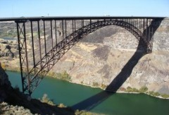 Bridge Over Snake River